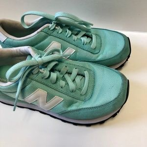 Turquoise New Balance Sneakers